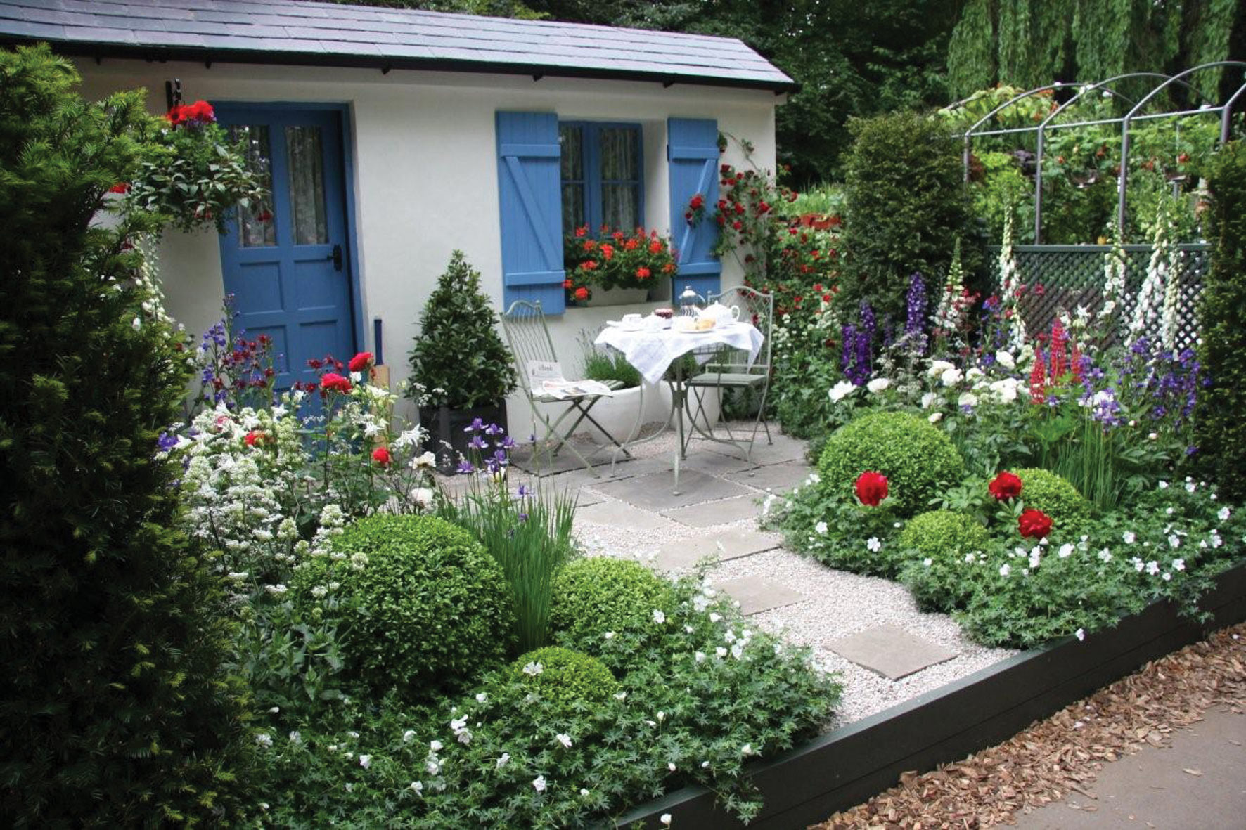Solo traveller ideas mary rossi travel - Small backyard landscaping ideas ...