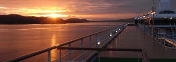 Cruises - sunset on board