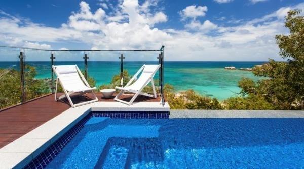 Lizard Island pool villa