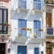 Street in Cagliari Sardinia
