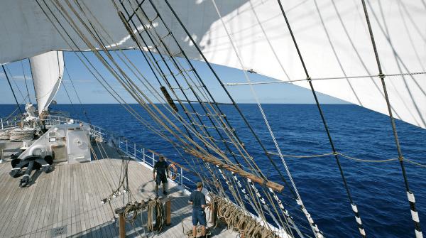 Sea Cloud II Sailing