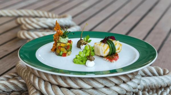 Sea Cloud food