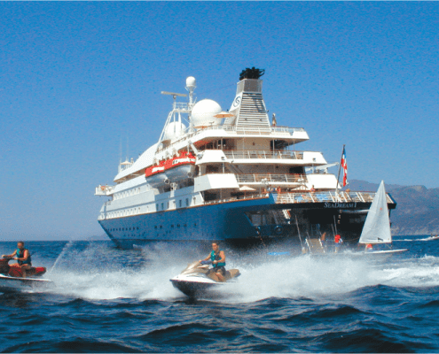 Discover the benefits of a small ship cruise.