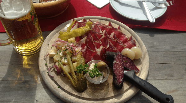 Hidden Italy cheese plate